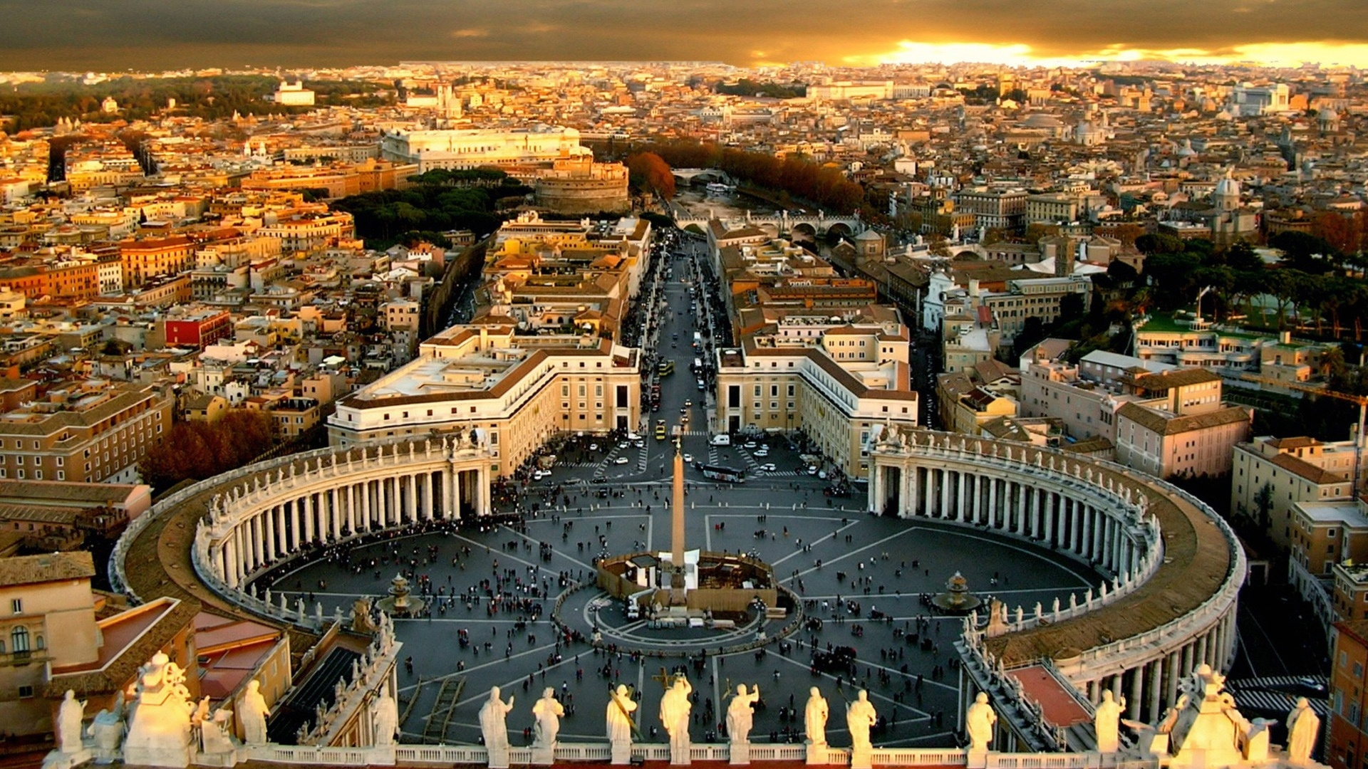 St Peter's Square Rome