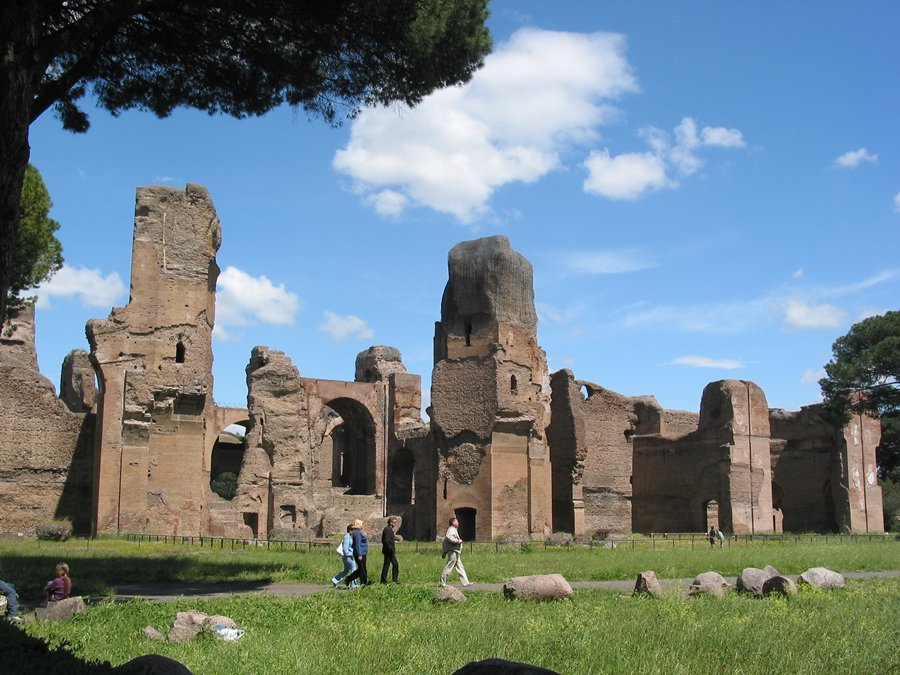 Rome Thermes Caracalla